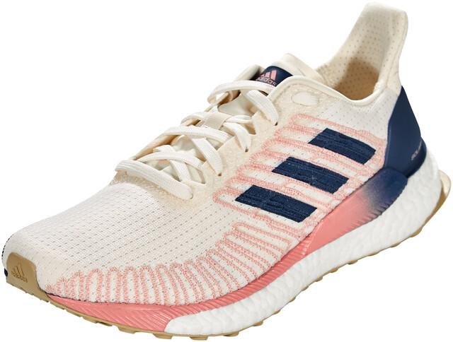 adidas Solar Boost 19 Schoenen Dames, chalk white/tech indigo/glory pink